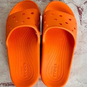 New Crocs slides size w9 m7
